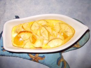 omelette aux pomme