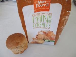 pain de mie aux céréales.